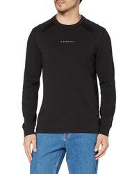 G-Star RAW S Moto Neoprene T-Shirt - Schwarz