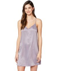 Iris & Lilly Nightie In Satin With Relaxed - Multicolour