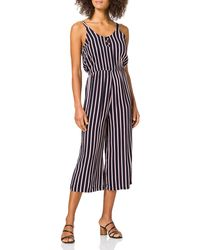 Vero Moda - Vmsimply Easy Culotte Jumpsuit Wvn Ga - Lyst