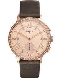 Fossil - Smartwatch ibrido in - Lyst