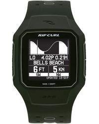 Rip Curl Analog-quartz Watch With Rubber Strap - Multicolor