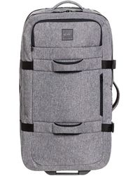 Quiksilver New Reach 100l Luggage One Size Light Grey Heather - Gray