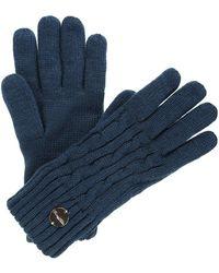 Regatta Multimix Ii' Cable Knit Gloves - Blue