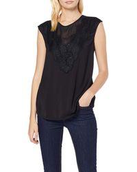 Guess SL Robyn Top Camiseta de Tirantes - Negro