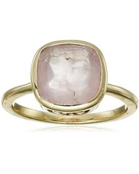 Cole Haan - Semi Precious Cushion-cut Ring, Size 7 - Lyst