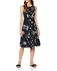 Great Plains Camilla Bloom Party Dress - Black