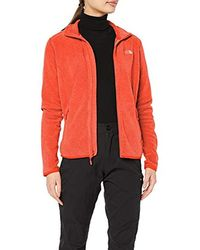 The North Face 100 Glacier Full Zip Jacket - Red