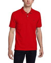Victorinox - Vx Stretch Pique Polo, Ember Red, X-large - Lyst