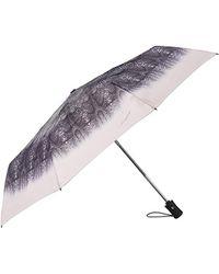 Desigual Women's Umbrellas Umbrella Snake 17waof52 Grey - Gray