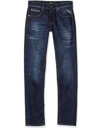 Replay Grover Straight Jeans - Blue