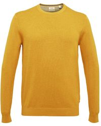 Esprit Collection 090eo2i301 Jumper - Yellow