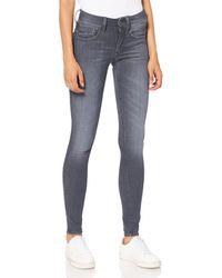 G-Star RAW Lynn D-Mid Waist Super Skinny Jeans - Blu
