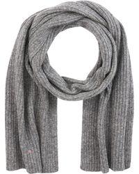 GANT O2. Wool Knit Scarf Schal - Grau