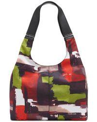 Calvin Klein Kylee Novelty Hobo Shoulder Bag - Black
