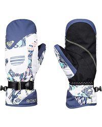 Roxy Moufles de Ski/Snowboard - - M - Bleu