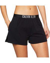 Calvin Klein Short Schlafanzughose - Schwarz