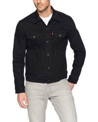 Levi's Veste en Jean pour Homme - Noir