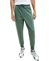 Calvin Klein Jeans Micro Branding HWK Pant Tuta da Ginnastica - Verde