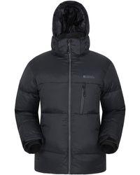Mountain Warehouse Piumino Polar Expedition da Uomo - Caldo, Imbottito, Isolato, Piumino Invernale Regolabile, Cerniere - Multicolore