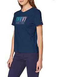 Tommy Hilfiger Tjw Summer Multicolour Tommy Tee T-shirt - Blue
