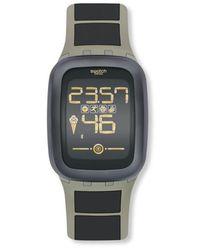 Swatch Quarzuhr earthzero 39 mm - Mehrfarbig
