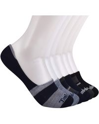 Timberland 5-pack No Show Liner Socks - Gray