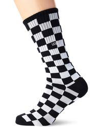Vans Calzettoni Checkerboard Ii - Nero