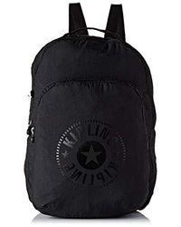 Kipling Seoul Packable, 33x44x14 cm - Schwarz