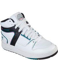 Skechers Slammer Shoes - White