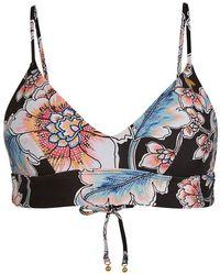 O'neill Sportswear Wave Top Reggiseno per Bikini - Rosso