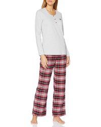 Esprit Kela CAS NW Pyjama Pijama - Rojo