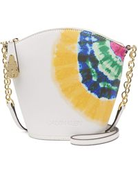 Calvin Klein Lock Crossbody - White