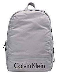 Calvin Klein , Daypack Grau grau