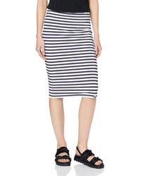 Superdry Summer Pencil Skirt Jupe - Bleu