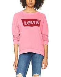 Levi's Relaxed Graphic Crew Sweat-Shirt - Rose