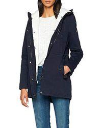 Superdry Rookie Sherpa Multi Jacket Abrigo para Mujer - Azul