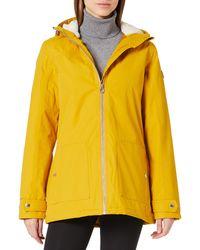 Regatta Bergonia II Waterproof Taped Seams Insulated Hooded Jacket - Amarillo