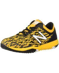 New Balance 4040v5 Turf Running Shoe - Giallo