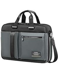 Samsonite Openroad Three-way Expandable Briefcase, 43 Cm, 27 Litre, Eclipse Grey - Gray