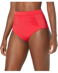 Amazon Essentials High-waisted Bikini Bottom - Red