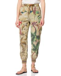 Desigual Touche Casual Trousers - Brown