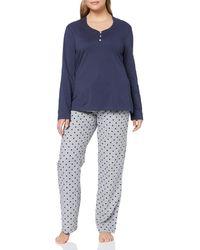 Esprit 077ef1y050 Pyjama Set - Grey