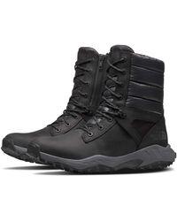 The North Face Up Winter Warm Waterproof Rain Snow Boots - Black/zinc Grey
