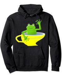 HUGO Frog Pullover Hoodie - Black