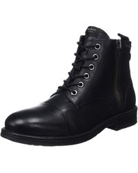 Pepe Jeans London Tom-cut Med Boot Classic - Black