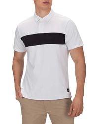 Hurley Nike Dri-fit Short Sleeve Polo - White