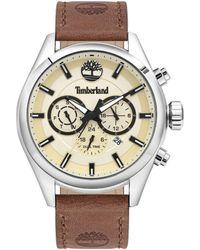 Timberland Reloj Analógico para Hombre de Cuarzo TBL16062JYS.14 - Metálico