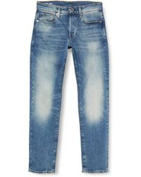 G-Star RAW - Jeans 3301 Straight Tapered - Lyst