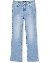 Vero Moda Vmsheila Mr Kick Flare Jeans Ba3121 - Blue