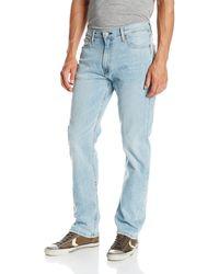 Levi's 513 Stretch Slim Straight Jean - Blue